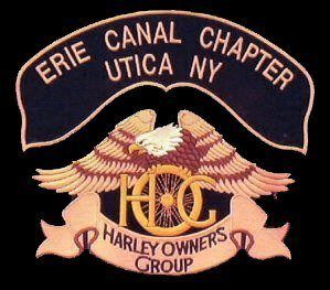 HOG Chapter Logo with Eagle